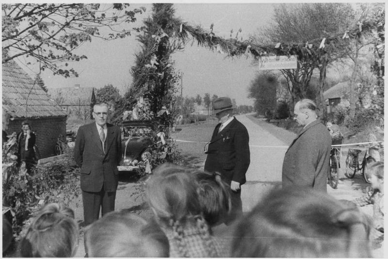Erinnerung: Eroeffnung der Birkenstrasse