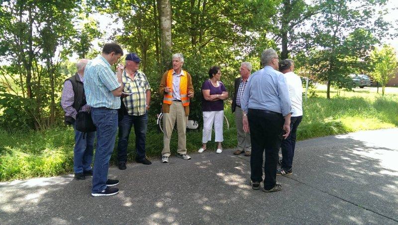 Elfuehrtje mit Kommunalpolitikern